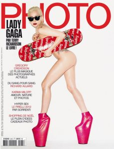 Photo magazine Lady Gaga Terry Richardson Supreme