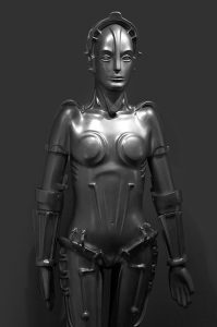 Maria_from_the_film_Metropolis_on_display_at_the_Robot_Hall_of_Fame
