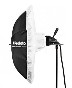 Profoto umbrella shallow