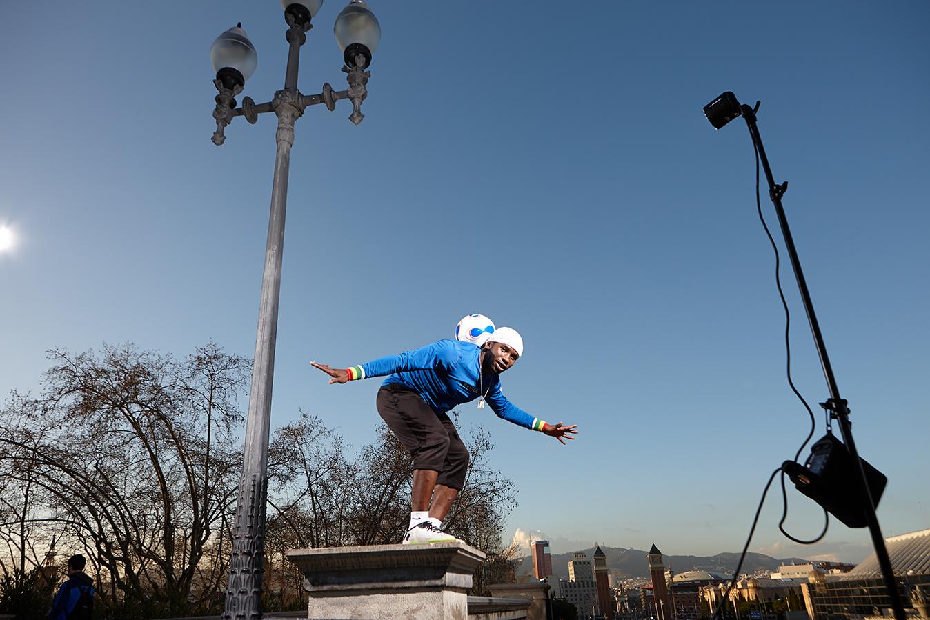 Iya Traore en el Montjuic