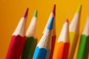 Pencils lápices colores
